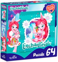 Купить Enchantimals Пазл для малышей Бри Кровля и Твист, ООО Группа компаний Оригами , Обучение и развитие