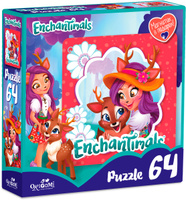 Купить Enchantimals Пазл для малышей Данэсса Оленни и Спринт, ООО Группа компаний Оригами , Обучение и развитие