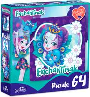 Купить Enchantimals Пазл для малышей Пэттер Павлина и Флэп, ООО Группа компаний Оригами , Обучение и развитие