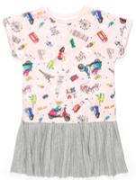 Купить Платье для девочки Acoola Ovada, цвет: мультиколор. 20210200209_8000. Размер 134, Одежда для девочек