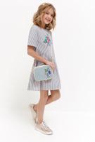 Купить Платье для девочки Acoola Bellona, цвет: светло-серый. 20210200218_1800. Размер 140, Одежда для девочек
