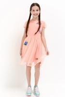 Купить Платье для девочки Acoola Fornax, цвет: светло-коралловый. 20210200222_3000. Размер 164, Одежда для девочек