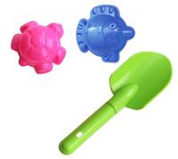 Купить Игрушки Поволжья Набор для песочницы 2 формочки и совочек 19 см, Игрушки для песочницы