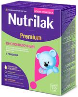 Купить Nutrilak Premium смесь кисломолочная с 0 месяцев, 350 г, Заменители материнского молока и сухие смеси