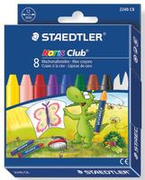 Купить Staedtler Мелки восковые Noris Club Jumbo 8 цветов, Мелки и пастель