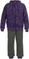 Купить Спортивный костюм для девочки Oldos Сильвия, цвет: фиолетовый, темно-серый. 5O8SU04. Размер 146, 11, 5 лет, Одежда для девочек