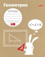 Купить Hatber Тетрадь Белый кролик Геометрия 48 листов в клетку, Тетради