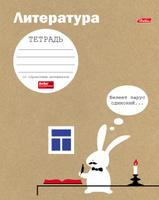 Купить Hatber Тетрадь Белый кролик Литература 48 листов в линейку, Тетради