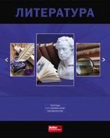 Купить Ваш Канцтоварищ Тетрадь Классика Литература 48 листов в линейку, Тетради
