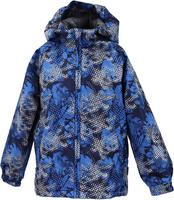 Купить Куртка детская Huppa Classy 1, цвет: темно-синий. 17710010-986. Размер 98, Одежда для девочек