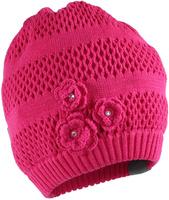 Купить Шапка для девочки Huppa Gloria, цвет: фуксия. 8343BASE-063. Размер L (55/57), Одежда для девочек