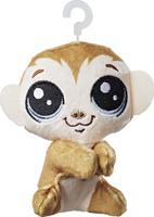 Купить Littlest Pet Shop Мягкая игрушка Пет Clicks Monkeyford 10 см, Мягкие игрушки