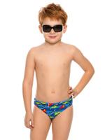 Купить Купальные плавки для мальчика Arina Nirey, цвет: синий. BP 091802. Размер 116/122, Одежда для мальчиков