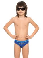 Купить Купальные плавки для мальчика Arina Nirey, цвет: синий. BP 091803. Размер 116/122, Одежда для мальчиков