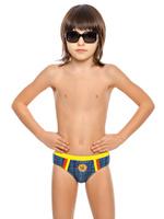 Купить Купальные плавки для мальчика Arina Nirey, цвет: синий. BP 121802. Размер 92/98, Одежда для мальчиков