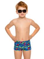 Купить Купальные плавки для мальчика Arina Nirey, цвет: синий. BX 091804. Размер 92/98, Одежда для мальчиков