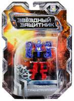 Купить 1TOY Робот-трансформер Звездный защитник грузовик 7 см, Фигурки