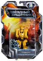 Купить 1TOY Робот-трансформер Звездный защитник спортивный автомобиль 7 см, Фигурки