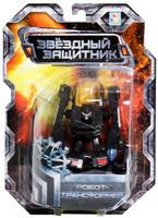 Купить 1TOY Робот-трансформер Звездный защитник полицейский автомобиль 7 см, Фигурки