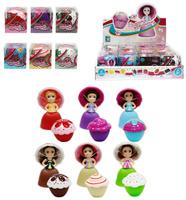 Купить 1TOY Кукла-трансформер Пироженка-Сюрприз Mini Шоколад 9 см, Куклы и аксессуары