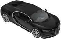 Купить Rastar Радиоуправляемая модель Bugatti Chiron цвет черный масштаб 1:14, Машинки