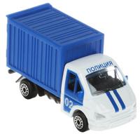 Купить ТехноПарк Модель автомобиля Газель Полиция цвет синий, Машинки