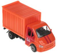Купить ТехноПарк Модель автомобиля Газель 04 цвет оранжевый, Машинки