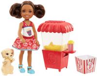 Купить Barbie Игровой набор с куклой Челси и щенок, Куклы и аксессуары