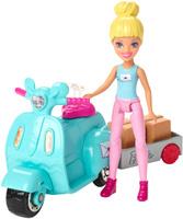 Купить Barbie Игровой набор с куклой В движении Почта, Куклы и аксессуары