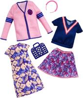 Купить Barbie Аксессуар для кукол Универсальные наряды 2 комплекта FKT27_FKT29, Куклы и аксессуары