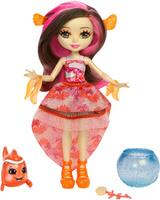 Купить Enchantimals Игровой набор с куклой Морские подружки с друзьями цвет коричневый, Куклы и аксессуары