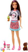 Купить Barbie Игровой набор с куклой Сестры и щенки, Куклы и аксессуары