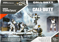 Купить Mega Bloks Call Of Duty Конструктор Арктические войска, Mega Bloks/Mega Construx, Конструкторы