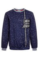 Купить Свитшот для мальчика M&D, цвет: темно-синий. 182140101_29. Размер 134, Одежда для мальчиков
