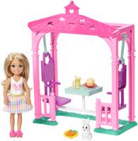 Купить Barbie Игровой набор с куклой Челси и набор мебели, Куклы и аксессуары