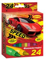 Купить Limpopo Набор фломастеров Max speed 24 шт, Фломастеры