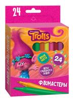 Купить Trolls Набор фломастеров Trolls 24 шт, Фломастеры