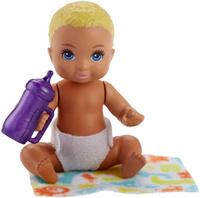 Купить Barbie Игровой набор с куклой Ребенок с аксессуарами FHY76_FHY80, Куклы и аксессуары