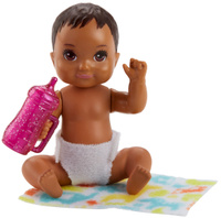 Купить Barbie Игровой набор с куклой Ребенок с аксессуарами FHY76_FHY81, Куклы и аксессуары