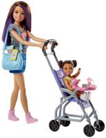 Купить Barbie Игровой набор с куклой Няня FHY97_FJB00, Куклы и аксессуары