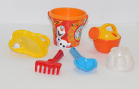 Купить Disney Набор игрушек для песочницы Холодное сердце №4, Игрушки для песочницы