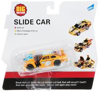 Купить Big Motors Машинка Краш-тест цвет оранжевый Уцененный товар (№1), Машинки