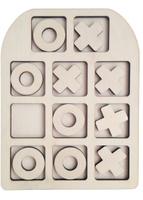 Купить Фабрика Мастер игрушек Рамка-вкладыш Крестик-нолики Классические, Обучение и развитие