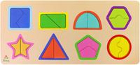Купить Фабрика Мастер игрушек Рамка-вкладыш Цвета и фигуры, Обучение и развитие