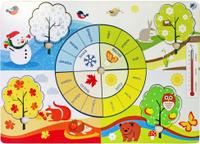 Купить Фабрика Мастер игрушек Рамка-вкладыш Времена года, Обучение и развитие