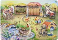 Купить Фабрика Мастер игрушек Обучающая игра Утро в деревне, Обучение и развитие