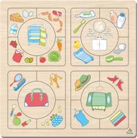 Купить Фабрика Мастер игрушек Пазл для малышей Наведи порядок, Обучение и развитие