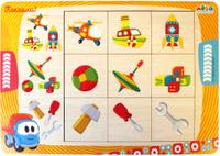 Купить Фабрика Мастер игрушек Рамка-вкладыш Грузовичок Лева Ассоциации, Обучение и развитие