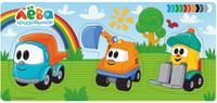 Купить Фабрика Мастер игрушек Рамка-вкладыш Грузовичок Лева и его друзья, Обучение и развитие
