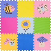 Купить Funkids NT Коврик-пазл с рисунками Окружающий Мир KB-D201B-NT-03, Развивающие коврики